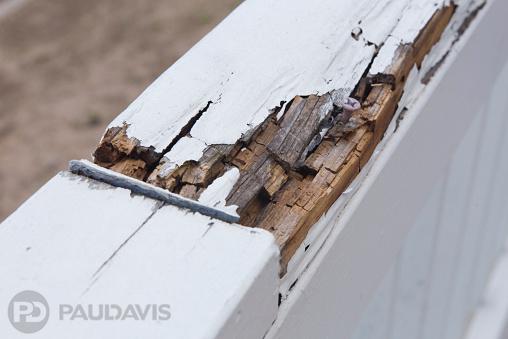 Rotten Wood Railing